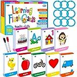 SpriteGru 180 Toddler Learning Flashcards, Educational Tool for Preschoolers