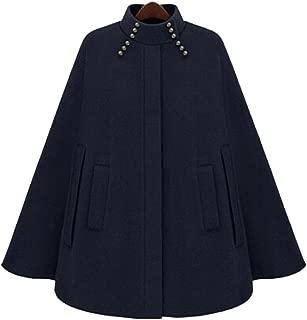 Nero Sconosciuto Cappotto da Donna, Stile Vintage, Caldo e