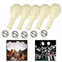 Sie sind gewöhnliche Ballons mit jeweils einer LED,die den Ballon beleuchtet. Autonomie ist 24 Stunden,sobald die LED erlischt,wird es zu einem gewöhnlichen Ballon. Durch das ingegriete LED Licht sind die LED Luftballons die perfekte Party Deko. 25 L...