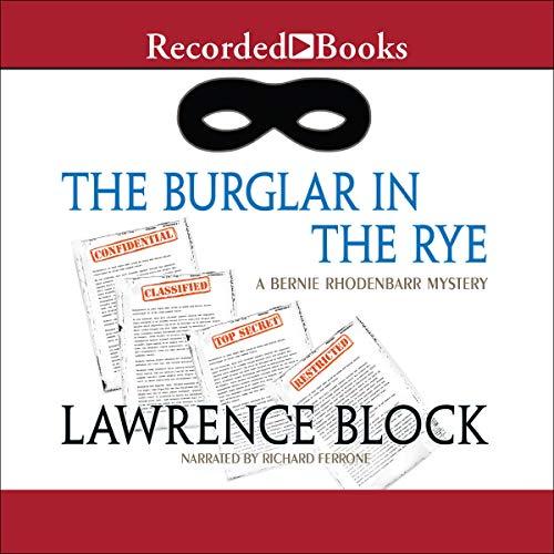 The Burglar in the Rye cover art