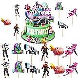 13 piezas de decoración para tartas de cumpleaños personalizadas, para niños, niñas, jóvenes, fiestas, cumpleaños, decoración para tartas