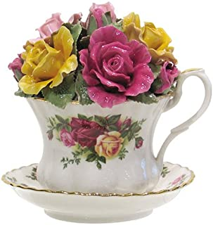 Royal Albert Old Country Roses Musical Teacup, 4