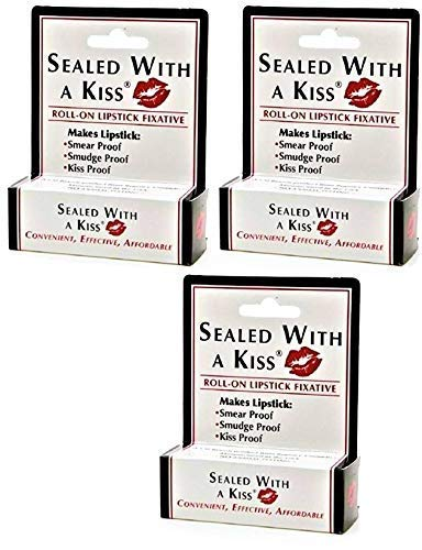 3 Pack of My Lips Are Sealed with a Kiss 0.17oz. 5ml