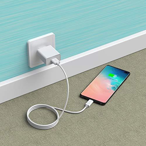 Slabo Ladekabel USB Typ C für iPad Pro 11 (2018-2020)   iPad Pro 12,9 (2018-2020) Datenkabel Verbindungskabel Sync-Kabel - WEIß