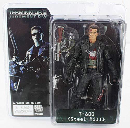 Reel Toys Figura de accion de Terminator tamaño 18cm muñeco Figure en PVC Modelo 1 de la colección película