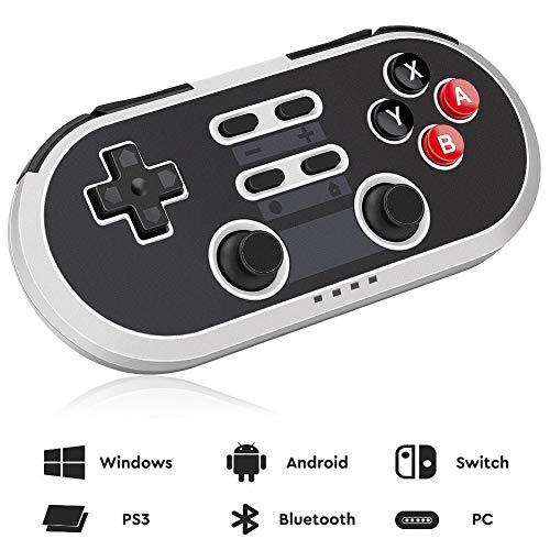 Guiseapue Wireless Controller USB Gamepad für Android,Windows PC, Nintendo Switch, PS3