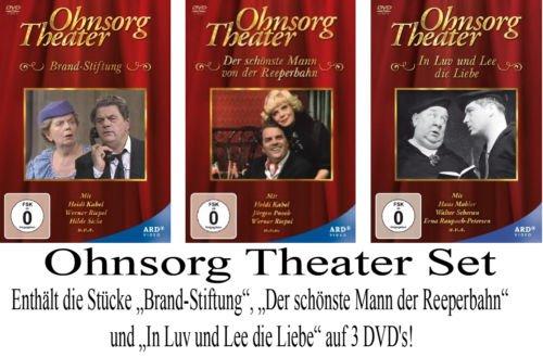 Ohnsorg Theater: Brand-Stiftung / Der schönste Mann von der Reeperbahn / In Luv und Lee die Liebe (3 DVDs)