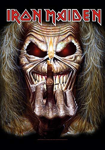 Global Merchandising Iron Maiden - Bandera de Eddie The Finger Candle