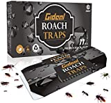 11 Pack Cockroach Traps with Bait, Gideal Sticky Paper Premium Glue Trap |...