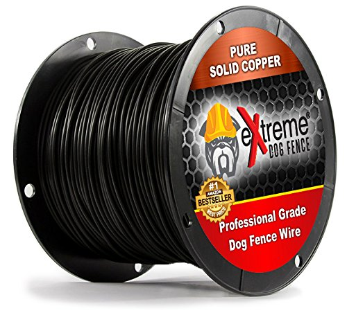 Electric Dog Fence Extreme Wire (500 Feet) for a DIY Inground Dog Fence or DIY Above Ground Dog Fence - Can Also Be Used with Existing Electric Pet Fence Systems as a Wire Upgrade