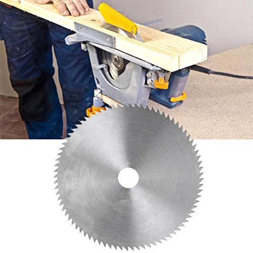 A0127 Hoja de sierra circular de acero ultrafina, 150 mm, diámetro de orificio de 20 mm, rueda de corte para carpintería