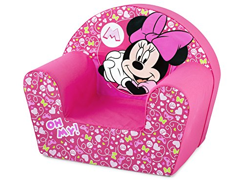 Lulabi – Disney Minnie, weiche Sessel, Pink, 18 + Monate, Farbe, 719325