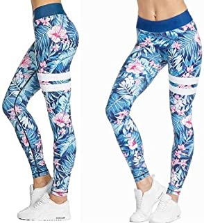 High Waist Womens Yoga Leggings with Tummy Support - Bonus 3D Sleep Mask Included - Activewear, Sports, Exercise and Gym T...
