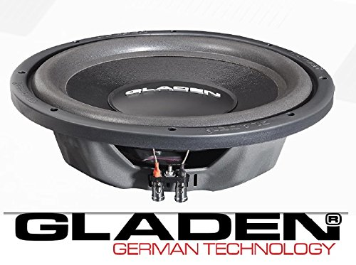 GLADEN RS-X 10 Slim Subwoofer 25 cm 375 Watt