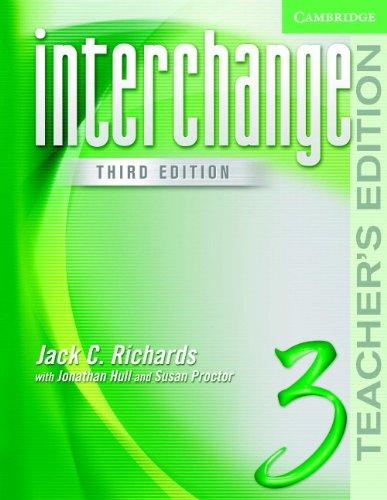 Download Interchange Teacher's Edition 3 (3rd Edition) 0521602254