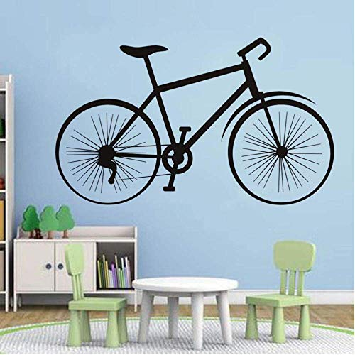 Vintage Bike Wall Decal Vinilo Pvc Extraíble Pegatinas De Pared Decoración De La Habitación Dormitorio Diy Arte De La...