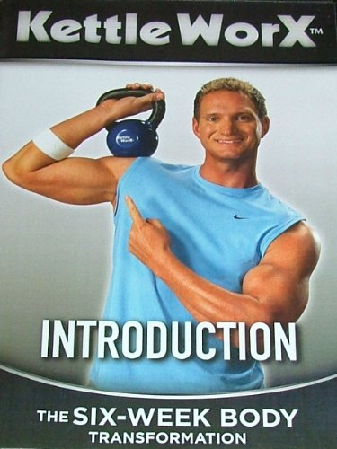 DVD: KettleWorX, Introduction, The six-week body transformation. DVD