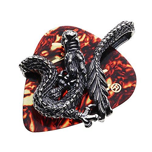 cenote『ドラゴンギターピックケースペンダント(p0657)』