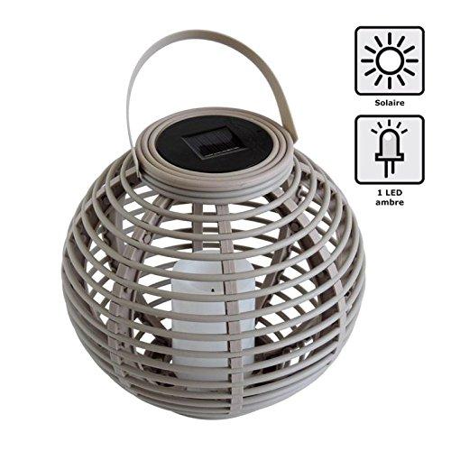 MUNDUS 35610 Lanterne, Plastique, Taupe