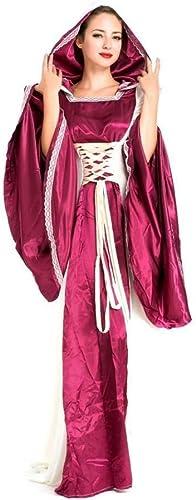 Fashion-Cos1 Halloween Vampir Kostüme Damen K gin Prinzessin Hexe Vampir Kleid Retro Palace Kostüm