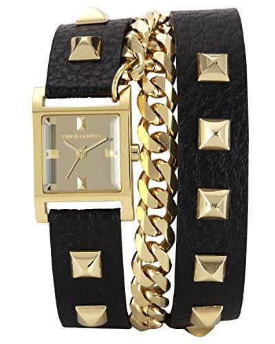 Vince Camuto VC/5088GMBK - Reloj de Cuarzo para Mujer, con Correa de...