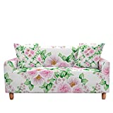 WXQY Funda de sofá elástica con Estampado Floral, Funda de sofá de Esquina combinada en Forma de L, Funda de sofá Todo Incluido Antideslizante A7 1 Plaza