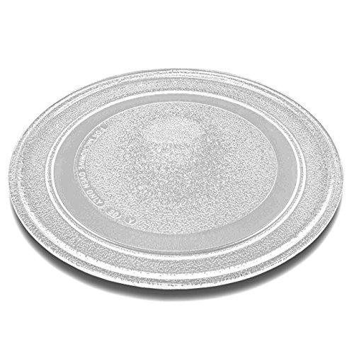 vhbw verre plaque tournante 24.5cm pour à micro-ondes Proline GM19B, SE20