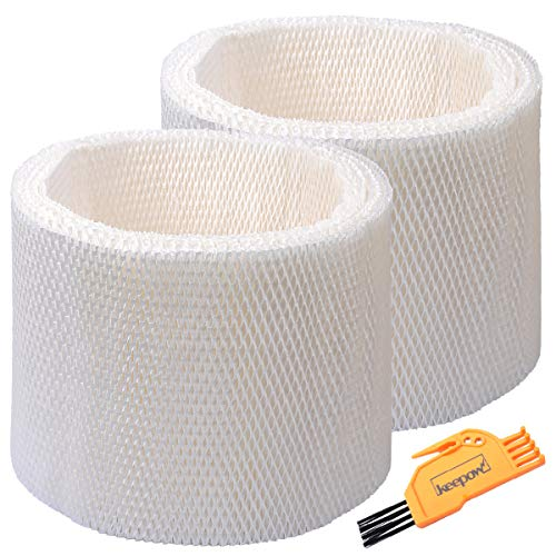 KEEPOW Humidifier Wicking Filters Compatible with Honeywell HC-14V1, HC-14, HC-14N, Filter E, 2 Pack