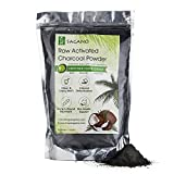 Activated Charcoal Powder 1LB by Sagano - Food Grade Coconut Charcoal...