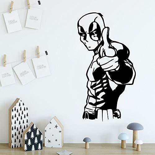Yaonuli vinylsticker, waterbestendig, voor woonkamer, slaapkamer, decoratie
