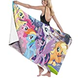 My Little Pony Beach Towels, Microfiber Super Soft Quick Dry...