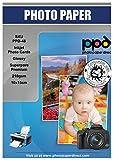 "PPD 10 x 15 cm (4 x 6"") Papel Fotográfico Brillante Súper Poroso Premium Para..."