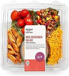 Amazon Kitchen, BBQ Seasoned Salad with Chicken, 12.4 oz (New)