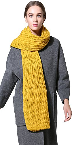NEOSAN Winter Thick Cable-Knit Wrap/Scarf