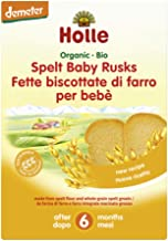 Holle Organic Spelt Baby Rusk, 200 Grams