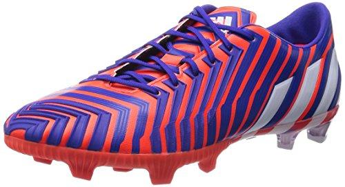 adidas adidas Herren Predator Instinct FG Fußballschuhe, Mehrfarbig (Solar Red/FTWR White/Night Flash S15), 40 2/3