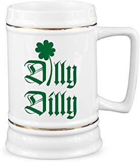 St Patricks Day Dilly Dilly Stein St Paddys Dilly Dilly Beer Stein St. Patrick's Day Beer Steins Irish Drinking Gift