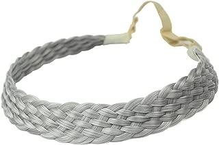 gray hair braids