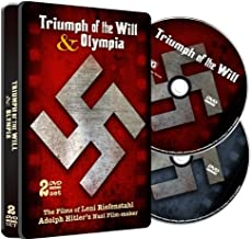 Triumph of the Will & Olympia Special Embossed Tin!
