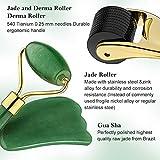 Zoom IMG-1 jade roller gua sha rullo