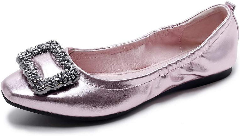 AN Womens Metal Buckles Urethane Pumps shoes DGU00710
