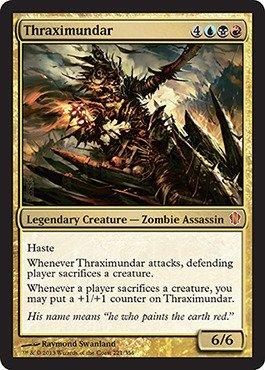 Magic The Gathering - Thraximundar (221/356) - Commander 2013