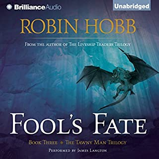 Fool's Fate audiobook cover art