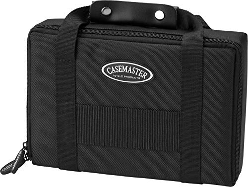 Casemaster by GLD Products Classic Nylon Dart Carrying Case for Steel and Soft Tip Darts, Holds 12...