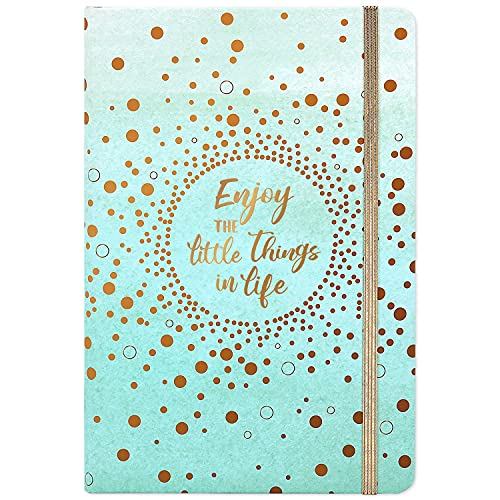 Cuaderno A5 forrado Notebook - Lined A5 Notebook Journal with Premium Paper,...
