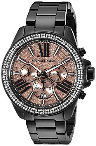 Michael Kors Wren MK5879 Reloj negro, para mujer