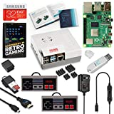 Vilros Raspberry Pi 4 NES Stlye Retro Gaming Kit-Includes 2 NES Style Gamepads and NES Style Case (4GB RAM)