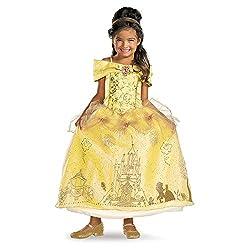 Disney Storybook Belle Prestige Kids Costume from Amazon Prime