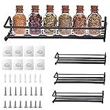 TWBEST Organizador Especias - Set 4 Estantes de Metal - Estantes de Cocina,...
