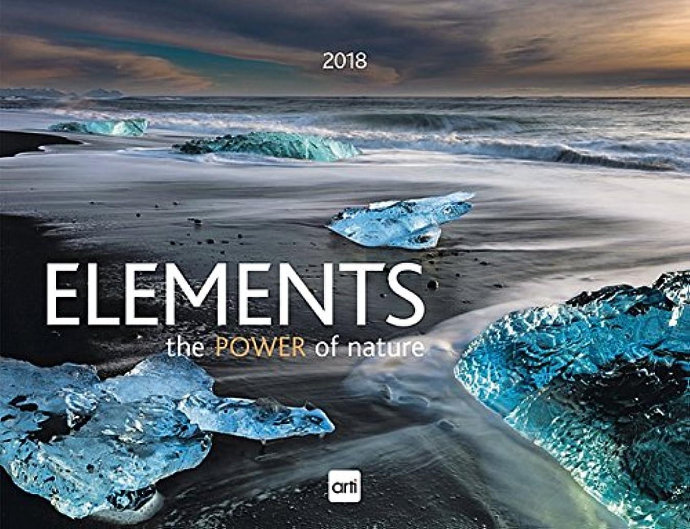 多数のホテル影響Elements - The Power of Nature 2018